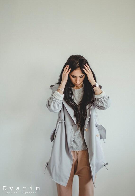 Grey Parka/Jackets/Outerwear