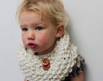 Toddler Knit Cowl/Scarf