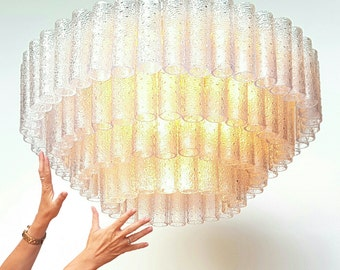 Murano Design Chandelier Modern Murano By Artvintageanddesign