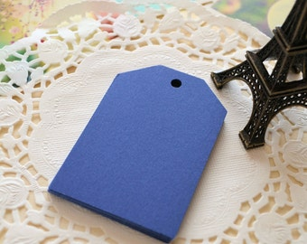 Handmade DIY Blank Large NAVY BLUE Gift Tags/Gift Wrapping Tags/15PCS