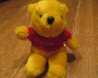 Vintage Winnie The Pooh Stuffed Animal Etsy