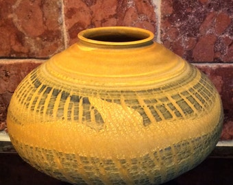 Handmade Textured Pottery