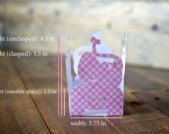 Baby Elephant Party Favor Box Sets