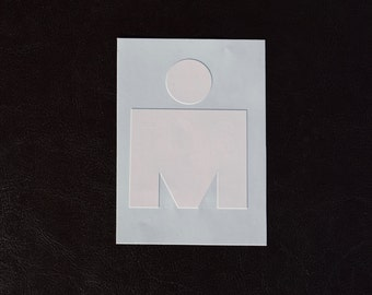 M-dot Decal