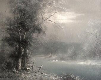 Jack Bryant Oil Painting Original