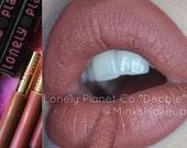 DEBBIE - Universal Nude - Nude Silky Moisturizing Matte Liquid Vegan Lipstick