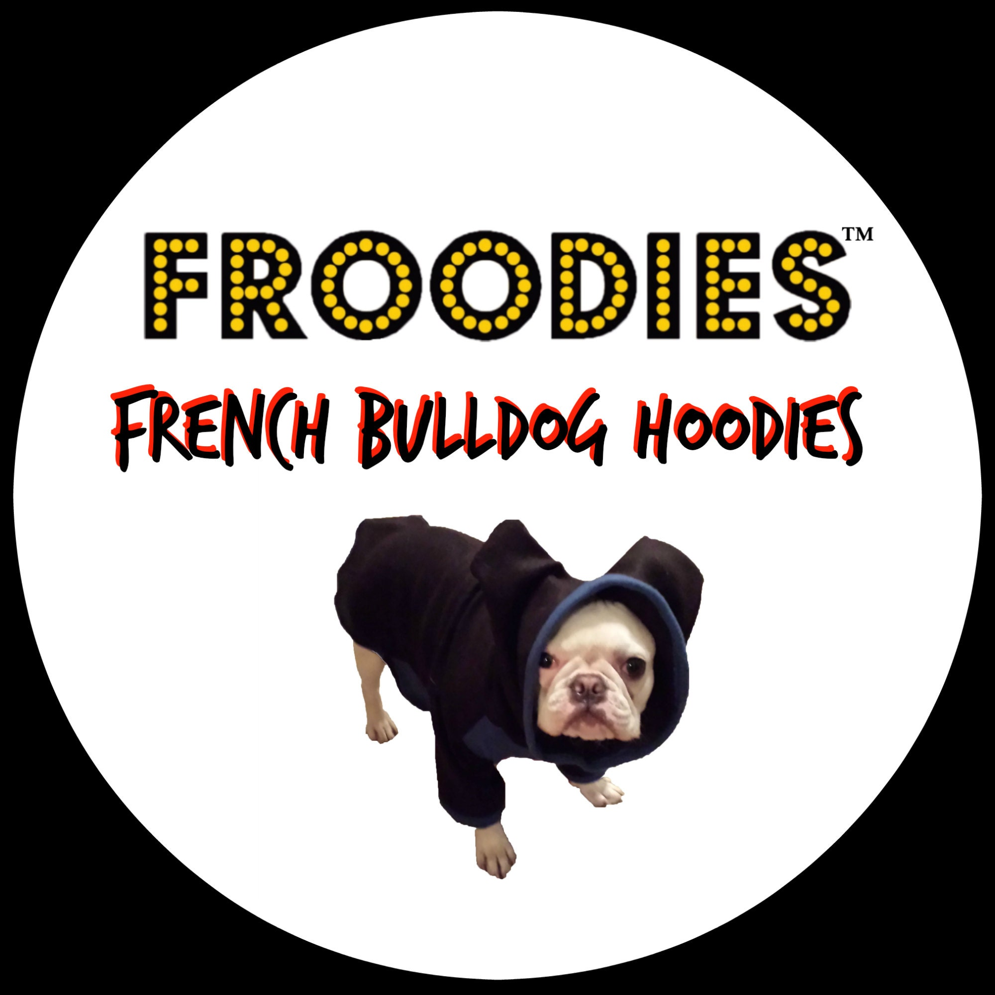 costume dog hoodies french bulldog boston by froodieshoodies