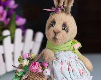 Rabbit Matilda - OOAK Teddy Bear