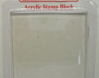 Acrylic Stamp Block For Scrapbooking Embellishments, Papier Scrapbooking, Scrapbook Ideas, Scrapbook Designs, Card Making Supplies