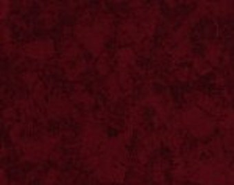 MICHAEL MILLER - Red - Krysta-2248-D - Mottled Print -Krystal - Dark Red