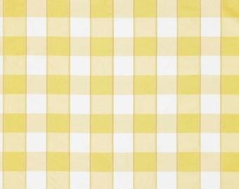 SCALAMANDRE CHELSEA SILK Check Fabric 10 Yards Cornsilk Yellow
