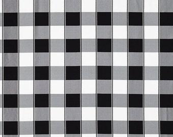 SCALAMANDRE CHELSEA SILK Check Fabric 10 Yards Onyx Black