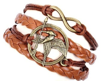 Bracelet Hunger Games Ridicule Bird infinity . TMPL_SKU007490