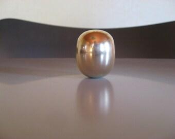Vintage. Danish design. Piet Hein Superellipse egg. Mid century modern