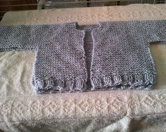 Ridges and Rows Cardigan Pattern