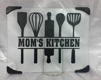 Personalizable kitchen cutting board
