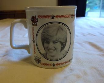 The Marriage of Prince Charles and Lady Diana Coffee Mug