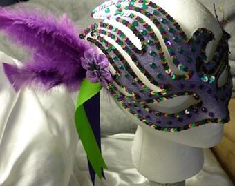 Mardi Gras 3 Masquerade Mask