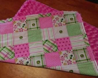 John Deere Baby Blanket