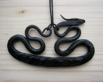 Black Dragon necklace