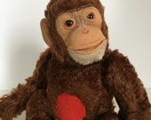 Antique Vintage Musical Steiff Jocko Monkey