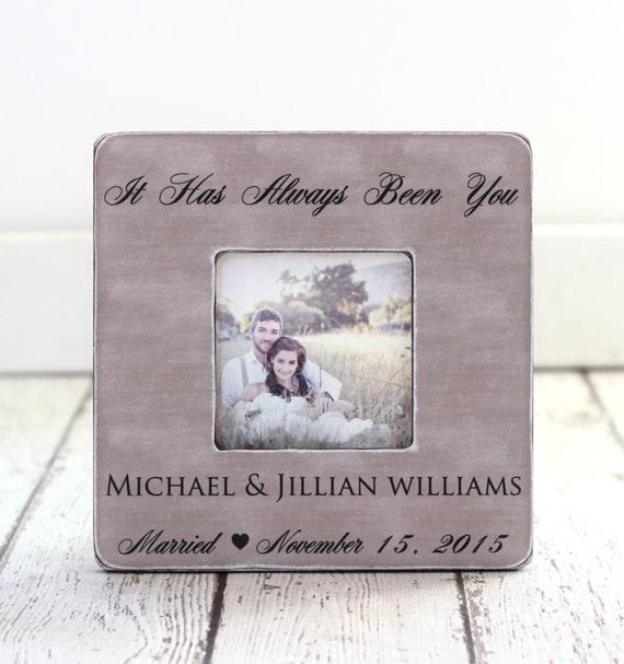 Unique Wedding Gifts Au : Wedding Frame Wedding Gift Personalized wedding frame, Anniversary ...