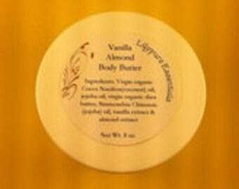 Vanilla Almond Body Butter 8 oz