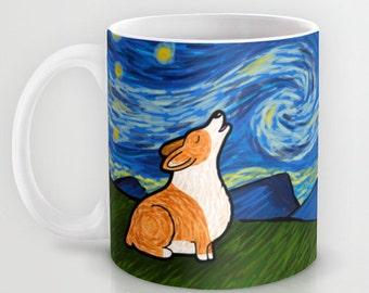 Corgi - Pembroke Corgi Coffee Mug - Starry Baroo