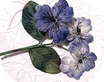 Vintage Velvet Flowers Millinery Supplies Floral Supplies FL-147