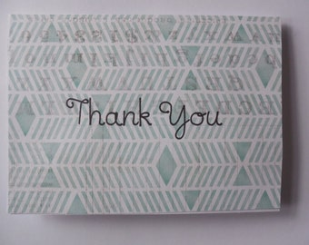 Handmade Thank You Cards- Thank You Cards- Set of Cards- Thank You Card Set- Handmade Cards- Thank You Cards- Handmade Card Set