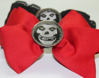 Misfits Red hair bow