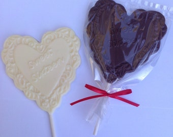 30 Sweet Sixteen birthday Chocolate pops