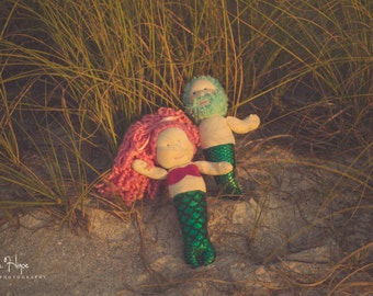 Custom Mermaid Dolls, Merman, Mermaid, Toy Doll, Mermaid Doll, Merman Doll