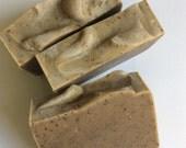 Coffee scrub soap, natural soap, handmade soap, coffee gift soap, espresso soap, espresso coffee