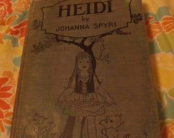 Heidi by Johanna Spyri 1944