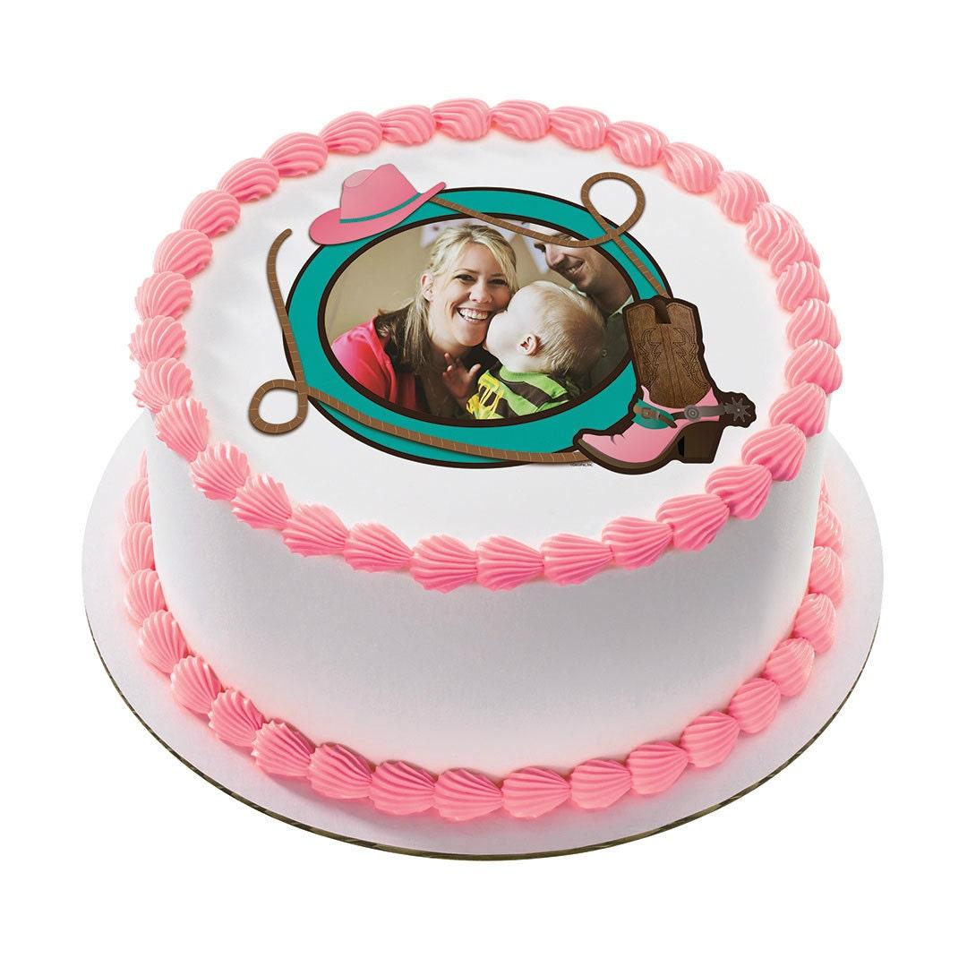 Cowgirl edible cake topper cowgirl edible cake image cowgirl