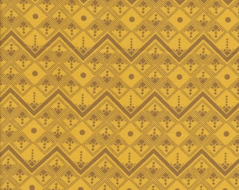 FQ - True Colors by Anna Maria Horner Fabric - Going Up in Citron - Quilting Cotton
