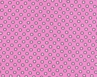 Donut Dots- Pink- 100% Cotton