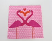 Flamingo Party napkins/ Pink Hawaiian Party napkins/ Pink Alice in Wonderland, pack of 20