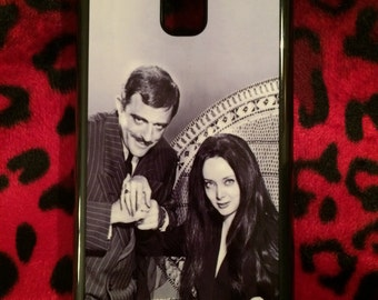 Addams Family Gomez and Morticia Phone Case