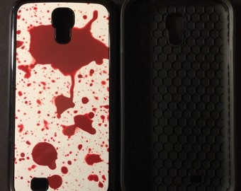 Blood Splatter Phone Case Horror