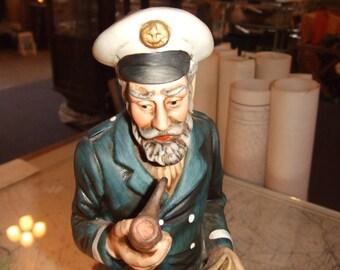"""Sea Captain ~ Porcelain ~ 14"""" Tall"""