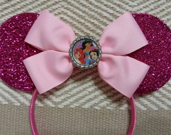 Pink Princess Minnie Ears