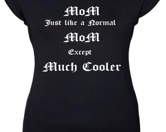 Ladies tattooed mom t shirt