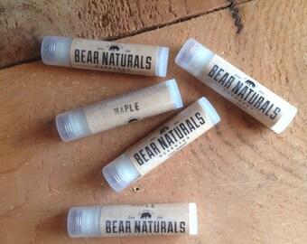 Natural lip balm - Maple