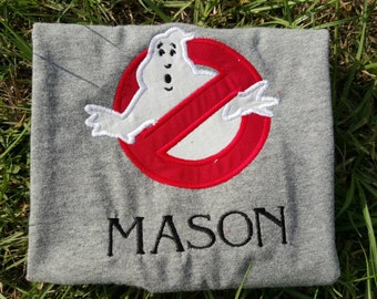 Monogrammed Ghostbusters Shirt