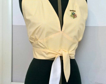 1950's wrap top beach robe. Summer is coming!