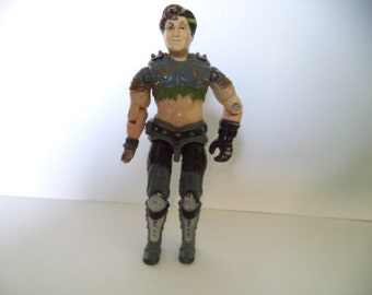 Vintage 1986 Hasbro GI Joe Action Figure - Thrasher V1 (Broken Hand) 3.75""