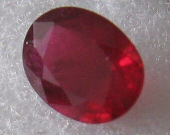 Natural unheated untreated ruby 0.98 ct
