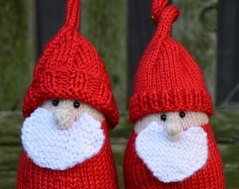 Christmas Gnome Knitted Pattern